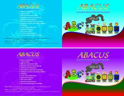 Material abacus pdf training
