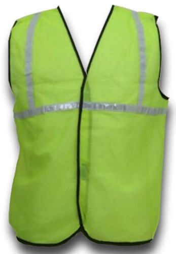 Polyester Plain Reflective Jacket With 1 Inch Tape
