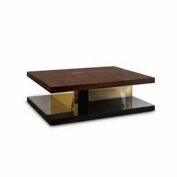 Rectangular Wooden Center Table