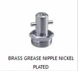 Brass Grease Nipple Nickel Plated