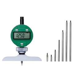 DIGITAL DEPTH GAGE (base 63x17mm), 0-300mm/0-12