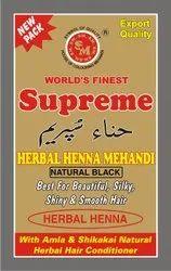 Supreme Herbal Natural Black Henna Mehandi
