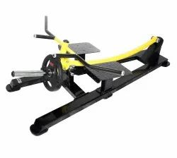 Standing T Bar Rowing Plate Loaded