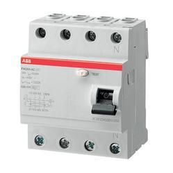 ABB FH204 AC-63/0.1 Residual Current Circuit Breaker (RCCB)