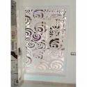 Designer Glass Safety Door