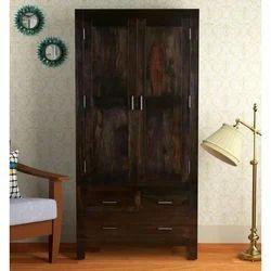 Brown AST International Antique Wooden Almirah