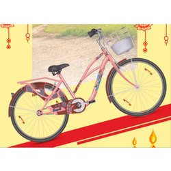 Mild Steel Hero Seagull 26T Girl Bicycle