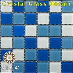 Crystal Glass Mosaic Tiles