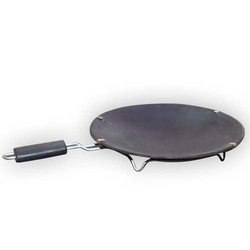 Earthen Non Stick Dosa Tawa (with Handle) (10 Inch)