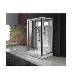 Crystal Steam Shower Cabin