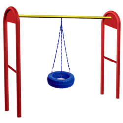 SNS 004 Arch Tyre Swing