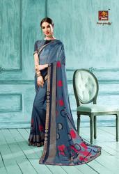 Priyaparidhi Peacock Series 7891-7900 Stylish Party Wear Bridal Saree