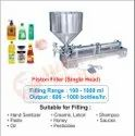Semi Automatic Piston Filling Machine / Hand Sanitizer Filling Machine