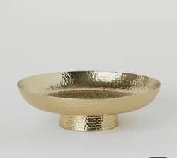 Brass Hammered Dishes