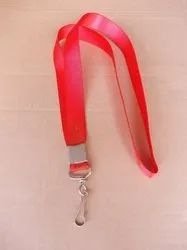 Satin Lanyard With Thumb Hook
