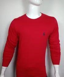 Round Neck Full Sleeve T Shirt