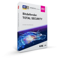 Bitdefender Total Security 5 User 3 Years