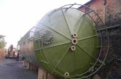 Fiberglass Reinforced Plastic 750L FRP Storage Tanks, Capacity: 50kl-70kl