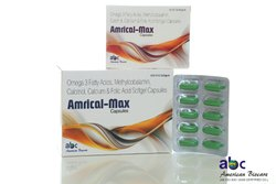 Omega 3 Fatty Acids Methylcobalamin Calcitriol Calcium And Folic Acid Softgel Capsules