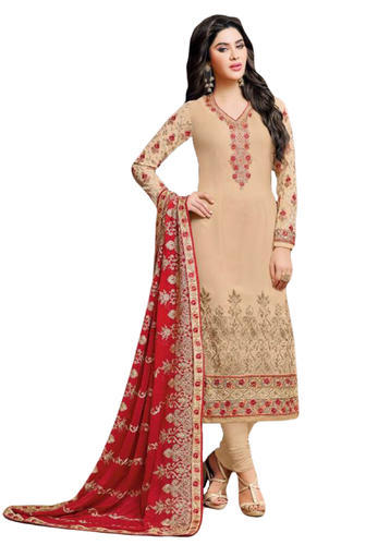 Georgette Occasion Party Wear Heavy Embroidery Salwar Kameez