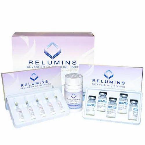 Relumins Advanced Glutathione 3500mg Injection