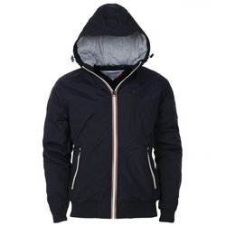 Black Small And XXL Hooded Jacket