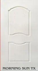 Moulded Skin Flush Door Morning Sun Masonite Skin Pine Frame, For Office