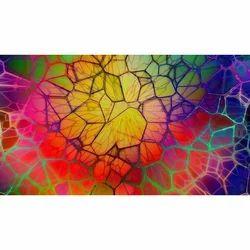 Multicolored Digital Printed Glass