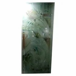 Saint Gobain and Modiguard Rectangle Printed Decorative Glass, Thickness: 5 To 12 mm