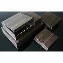 Dark Brown Wooden Packing Box
