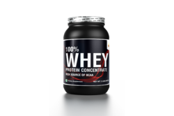 M- Strong Nutrition 80% Whey Protein, Packaging Type: Bottle