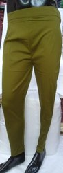 Army Green Ladies Cigarette Pant