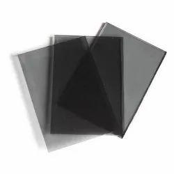Plain Black Tinted Glass