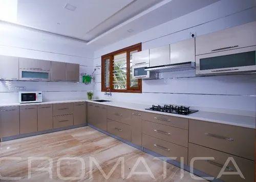 Cromatica Stainless Steel Modular Kitchen, Warranty: Lifetime