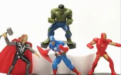 Multicolor Unisex The Avengers Toy, Without Battery