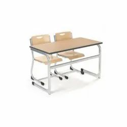 Double Seater Desk And Bench