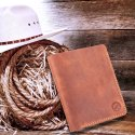 Bi Fold Leather Wallet For Men