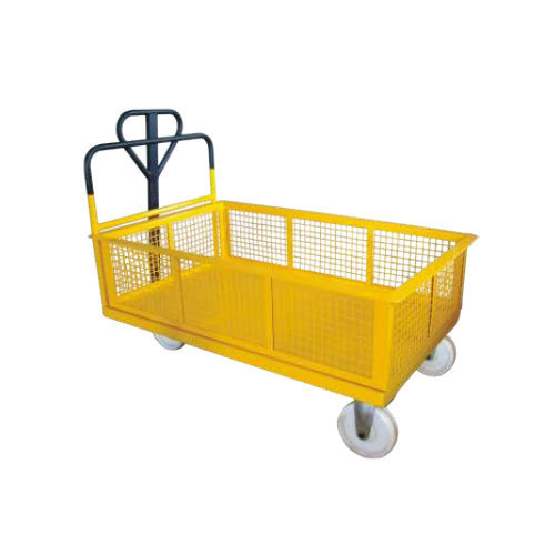 Industrial Trolley - Cage Trolley Manufacturer from Ahmedabad