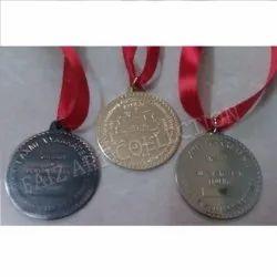 1024 Round Brass Medal