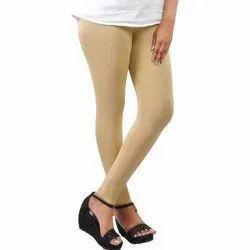 Cotton Plain Women Fancy Legging