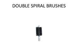 Boiler Tube Cleaning Tool Double Spiral Brush