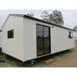 Mild Steel Bunk House Cabin