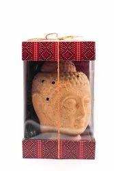 AuraDecor Electric Buddha Gift Set with Aroma Oil & Bulb