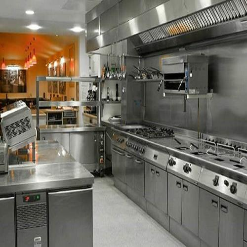 Stainless Steel Hotel Kitchen Setup Rs 550 Square Feet Mbs