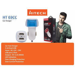 White Hitech Car Fast Charger