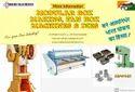 Automatic Fan Box Making Machine