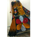 Handloom Designer Saree, 6 M (with Blouse Piece)