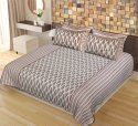 Bedsheet Double Cotton with Pillow Cover