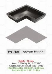 Arrow Paver Blocks Rubber Mould 3D paver Mould