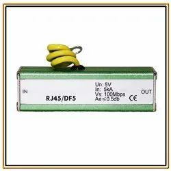 RJ45 Ethernet Surge Protector Lightning Arrester